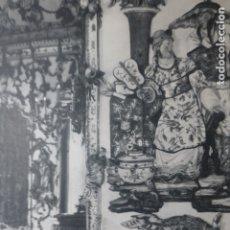 Documentos antiguos: ARANJUEZ MADRID PALACIO ANTIGUA LAMINA HUECOGRABADO. Lote 183255721