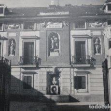 Documentos antiguos: ARANJUEZ MADRID PALACIO ANTIGUA LAMINA HUECOGRABADO. Lote 183255796
