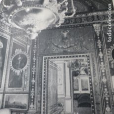 Documentos antiguos: ARANJUEZ MADRID PALACIO ANTIGUA LAMINA HUECOGRABADO. Lote 183255842