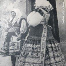 Documentos antiguos: LAGARTERA TOLEDO MUJERES ANTIGUA LAMINA HUECOGRABADO. Lote 183261370