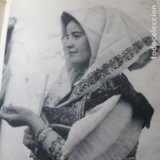 Documentos antiguos: LAGARTERA TOLEDO MUJER ANTIGUA LAMINA HUECOGRABADO. Lote 183261463