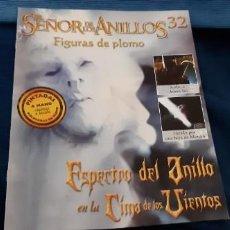 Documentos antiguos: RESERVADO FASCÍCULO 32 SEÑOR ANILLOS ESPECTRO ANILLO . Lote 183572313