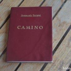 Documents Anciens: CAMINO, DE JOSE MARÍA ESCRIVÁ.23ª EDICION CASTELLANA.AÑO 1965. Lote 183609953