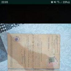 Documentos antiguos: DOCUMENTOS OSSA PALILLOS,AÑO 1955. Lote 183860688