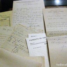 Documentos antiguos: COMPAÑIA FERROCARRILES MADRID ZARAGOZA BILLETE PARTE DE OBRAS CONSTRUCCION TUNELES TREN 1913. Lote 184363438
