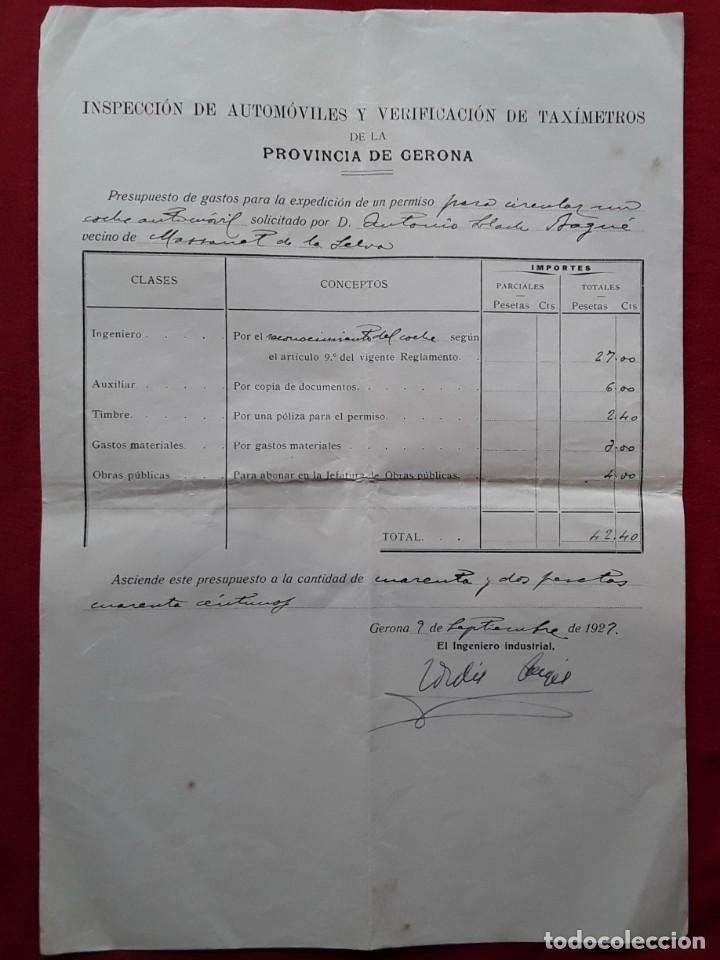Documentos antiguos: Lote completo papeles compra coche importación ESTUDEBAKER ( Erskine). 1927 - Foto 3 - 185986796