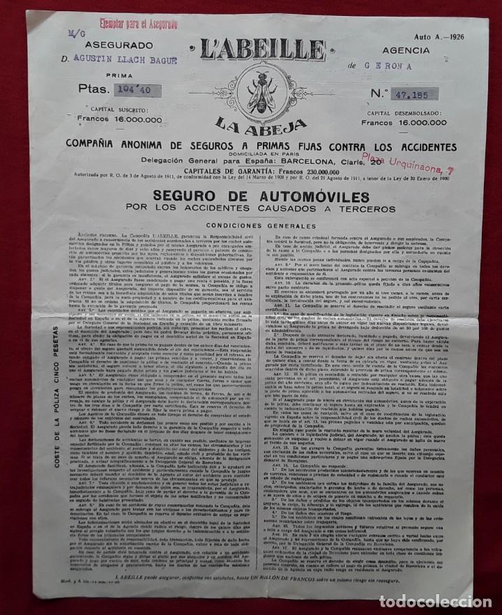 Documentos antiguos: Lote completo papeles compra coche importación ESTUDEBAKER ( Erskine). 1927 - Foto 8 - 185986796