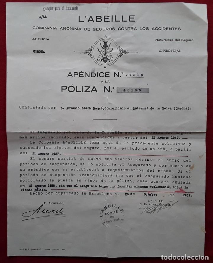 Documentos antiguos: Lote completo papeles compra coche importación ESTUDEBAKER ( Erskine). 1927 - Foto 9 - 185986796