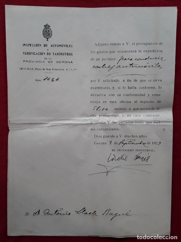Documentos antiguos: Lote completo papeles compra coche importación ESTUDEBAKER ( Erskine). 1927 - Foto 11 - 185986796