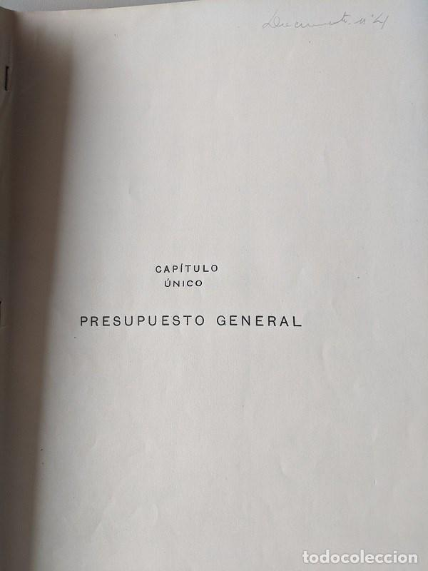 Documentos antiguos: 1925 MZA RED CATALANA - FERROCARRIL - ANTEPROYECTO PASO A NIVEL AVENIDA ICARIA - BARCELONA A MATARO - Foto 8 - 186310002