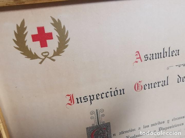 Documentos antiguos: CRUZ ROJA ESPAÑOLA--1976--INSPECCION DE TROPAS Y PARQUES--NOMBRAMIENTO INSPECTOR ----REF-1AC - Foto 2 - 186454181