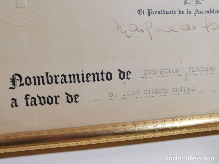 Documentos antiguos: CRUZ ROJA ESPAÑOLA--1976--INSPECCION DE TROPAS Y PARQUES--NOMBRAMIENTO INSPECTOR ----REF-1AC - Foto 4 - 186454181