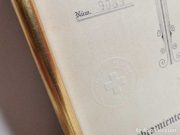 Documentos antiguos: CRUZ ROJA ESPAÑOLA--1976--INSPECCION DE TROPAS Y PARQUES--NOMBRAMIENTO INSPECTOR ----REF-1AC - Foto 6 - 186454181