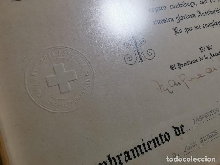 Documentos antiguos: CRUZ ROJA ESPAÑOLA--1976--INSPECCION DE TROPAS Y PARQUES--NOMBRAMIENTO INSPECTOR ----REF-1AC - Foto 10 - 186454181