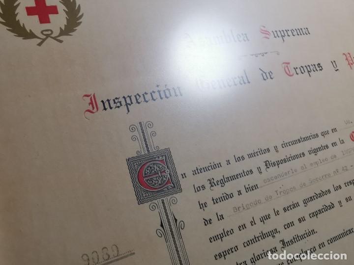Documentos antiguos: CRUZ ROJA ESPAÑOLA--1976--INSPECCION DE TROPAS Y PARQUES--NOMBRAMIENTO INSPECTOR ----REF-1AC - Foto 11 - 186454181