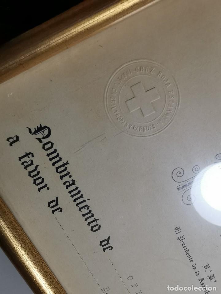 Documentos antiguos: CRUZ ROJA ESPAÑOLA--1976--INSPECCION DE TROPAS Y PARQUES--NOMBRAMIENTO OFICIAL MEDICO 1º ----REF-1AC - Foto 3 - 186454315