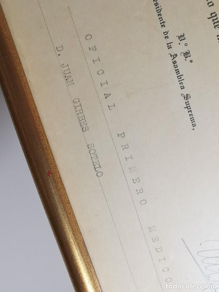 Documentos antiguos: CRUZ ROJA ESPAÑOLA--1976--INSPECCION DE TROPAS Y PARQUES--NOMBRAMIENTO OFICIAL MEDICO 1º ----REF-1AC - Foto 4 - 186454315
