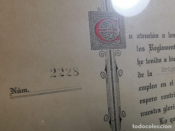 Documentos antiguos: CRUZ ROJA ESPAÑOLA--1976--INSPECCION DE TROPAS Y PARQUES--NOMBRAMIENTO OFICIAL MEDICO 1º ----REF-1AC - Foto 6 - 186454315