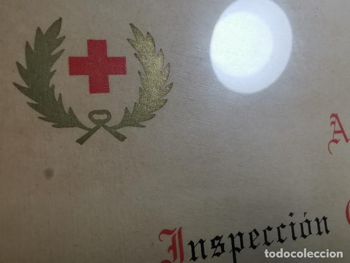 Documentos antiguos: CRUZ ROJA ESPAÑOLA--1976--INSPECCION DE TROPAS Y PARQUES--NOMBRAMIENTO OFICIAL MEDICO 1º ----REF-1AC - Foto 7 - 186454315
