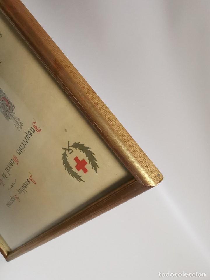 Documentos antiguos: CRUZ ROJA ESPAÑOLA--1976--INSPECCION DE TROPAS Y PARQUES--NOMBRAMIENTO OFICIAL MEDICO 1º ----REF-1AC - Foto 11 - 186454315