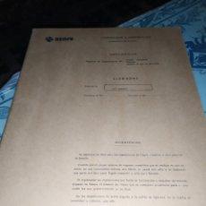 Documentos antiguos: BLOC RENFE CONTABILIDAD E INTERVENCIÓN MERCANCÍAS SIN USU. Lote 188788312