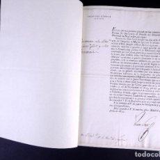 Documentos antiguos: REAL DECRETO DE CONFORMIDAD DE SUELDOS Y RETIROS EN EL EJERCITO Y ARMADA. MADRID 1820. Lote 189290285