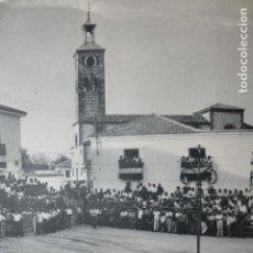Documenti antichi: MOSTOLES MADRID CORRIDA DE TOROS ANTIGUA LAMINA HUECOGRABADO. Lote 190194550