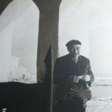 Documenti antichi: CALELLA GERONA ASPECTO URBANO ANTIGUA LAMINA HUECOGRABADO AÑOS 50. Lote 190300262