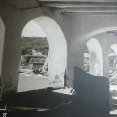 Documenti antichi: CALELLA GERONA LES VOLTES ANTIGUA LAMINA HUECOGRABADO AÑOS 50. Lote 190300276