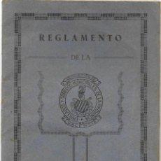 Documentos antiguos: REGLAMENTO DE LA ASOCIACIÓN DE EMPLEADOS Y OBREROS MUNICIPALES DE LA PROVINCIA DE VALENCIA AÑO 1934. Lote 190636985