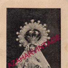 Documentos antiguos: SEMANA SANTA MALAGA, PUENTE CEDRON, SOLICITUD RECONSTRUCCION TRAS GUERRA CIVIL, MUY RARA. Lote 190761465