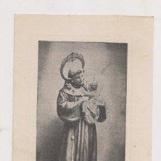 Documentos antiguos: ESTAMPA SAN ANTONIO DE PADUA. JUVENTUD ANTONIANA DE AVILÉS. ASTURIAS. Lote 190779102