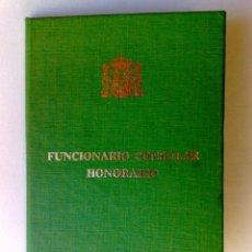 Documentos antiguos: CARNET IDENTIDAD DEL VICECONSUL HONORARIO DEL CONSULADO DE FILIPINAS EN BARCELONA (DESCRIPCIÓN). Lote 191070573
