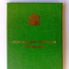 Documentos antiguos: CARNET IDENTIDAD ESPOSA DEL VICECONSUL HONORARIO DEL CONSULADO DE FILIPINAS,BARCELONA (DESCRIPCIÓN). Lote 191071046