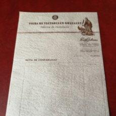Documentos antiguos: PAPEL BARCIANO CHOCOLATES SANTA JULIANA. Lote 191076893