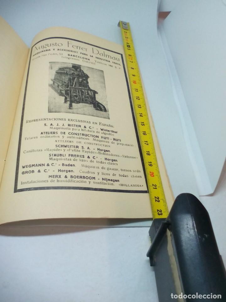 Documentos antiguos: Manual practic per a el fabricante de teixits en catalán 1925 - Foto 2 - 191378037