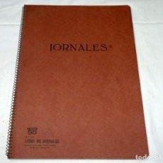 Documentos antiguos: ANTIGUA LIBRETA LIBRO DE JORNALES SPIRAX.TAMAÑO GRANDE.. Lote 191660612