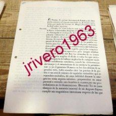 Documentos antiguos: 1833, AMNISTIA CONCEDIDA A EX DIPUTADOS, POR SUBIDA AL TRONO DE ISABEL II, RARISIMO, 3 PAGINAS. Lote 191774547