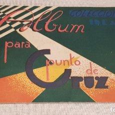 Documentos antiguos: ÁLBUM PARA PUNTO DE CRUZ / COLECCIONES IDEAL / SERIE G Nº 3 / ENVÍO INCLUIDO / BUEN ESTADO.. Lote 191997410