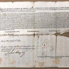 Documentos antiguos: SOLICITUD DEL ARCEDIANO DE DAROCA, ZARAGOZA, DE PAGOS DE CONTRIBUCION ECLESIASTICA. AÑO 1723. Lote 192878396