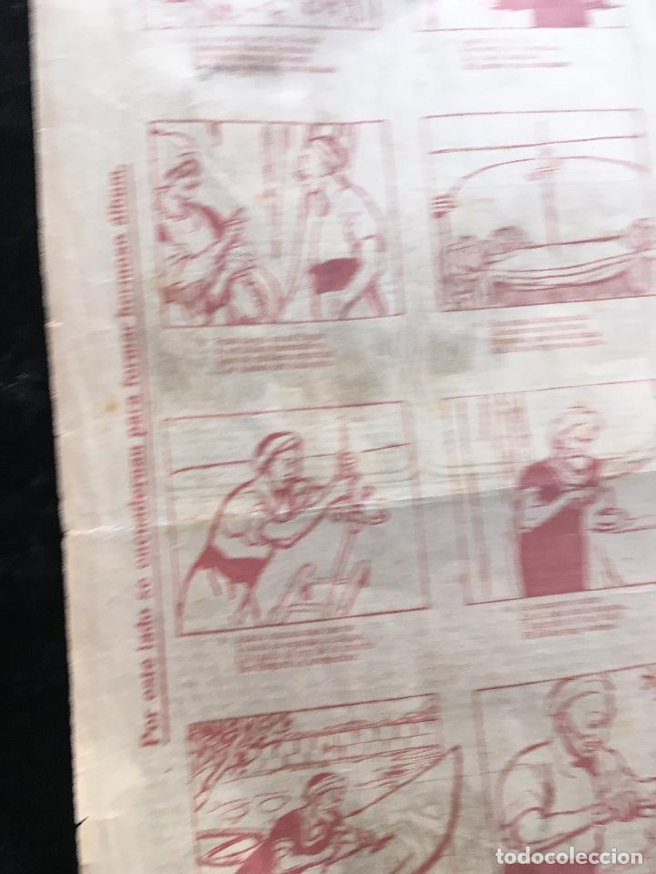 Documentos antiguos: AUCA / ALELUYA - CUÉNTANSE LOS ATENTADOS DE DOS HOMBRES MUY MALVADOS - 5 cts. - Revista EL AMIGO - Foto 3 - 193004438