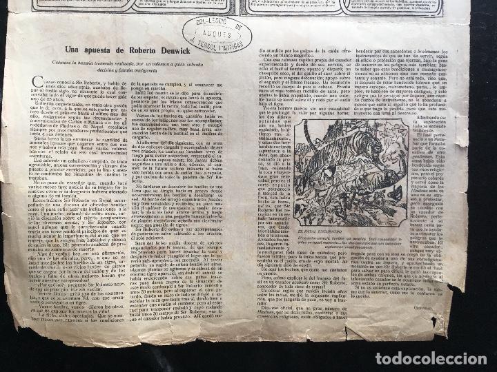 Documentos antiguos: AUCA / ALELUYA - CUÉNTANSE LOS ATENTADOS DE DOS HOMBRES MUY MALVADOS - 5 cts. - Revista EL AMIGO - Foto 6 - 193004438