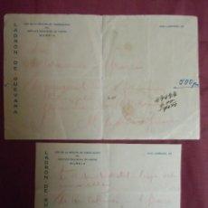 Documentos antigos: GUERRA CIVIL.MURCIA,MAYO 1938.INSTITUTO PROVINCIAL DE HIGIENE,SECCION TUBERCULOSIS,. Lote 193234495
