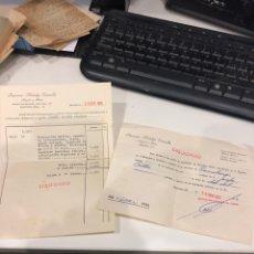Documentos antiguos: RECIBOS. Lote 193429930