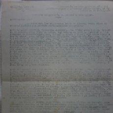 Documentos antiguos: CARTA DE COMERCIAL LIBRERA DE CARTAGENA A CLIENTE PARA OFRECER SUS LOTES DE LIBROS Y PRECIOS. Lote 193446237