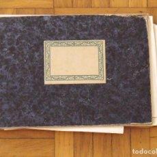 Documentos antiguos: LIBRETA CONTABILIDAD. DEBE Y HABER. 1926-1931. JOSÉ MARÍA ABAD. BARCELONA. OTROS DOCUMENTOS DENTRO.. Lote 193901496