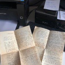 Documentos antiguos: CARTAS. Lote 193921013