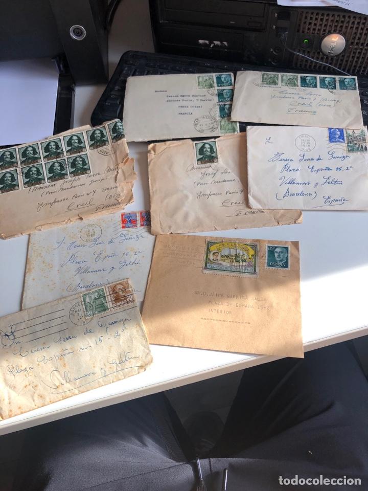 SOBRES CON SELLO (Coleccionismo - Documentos - Otros documentos)