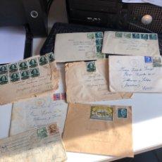 Documentos antigos: SOBRES CON SELLO. Lote 193921312