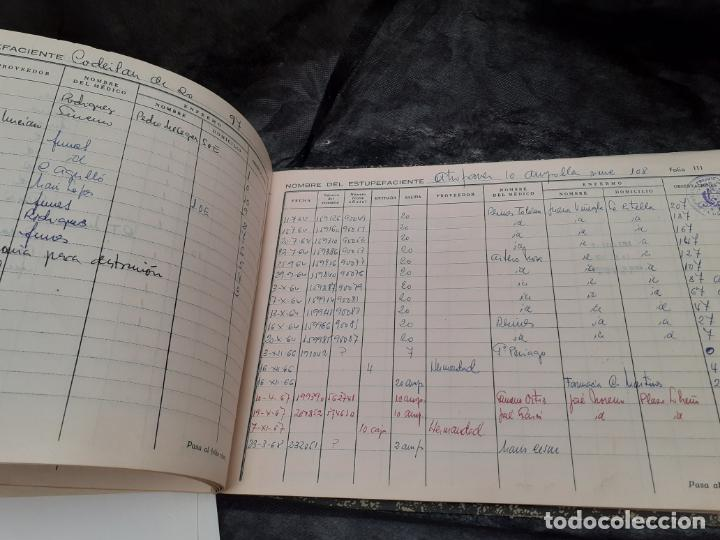 Documentos antiguos: LIBRO OFICIAL DE CONTABILIDAD DE ESTUPEFACIENTES FARMACIA AÑOS 90 - Foto 5 - 193974358